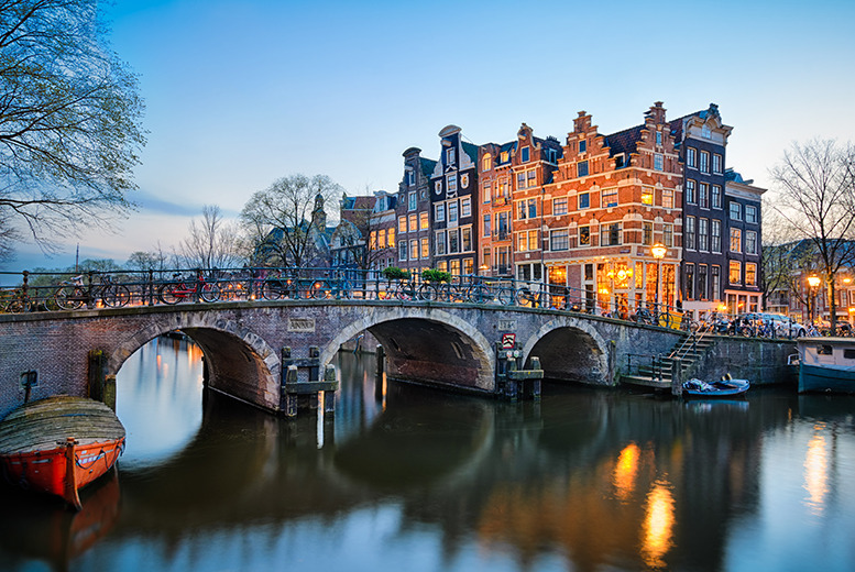 From £99pp (from Crystal Travel) for a 2-night Amsterdam break with 4* accommodation and return flights, from £129pp for 3 nights - save up to 24%