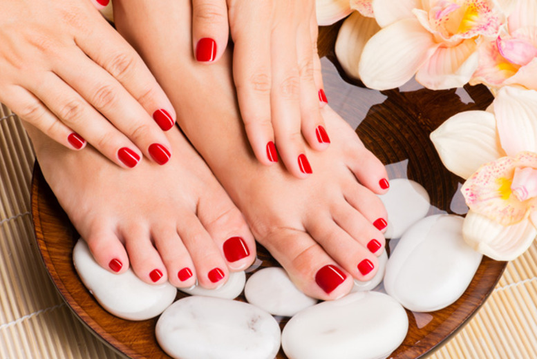 £15 instead of £49 for a manicure and pedicure at Peint, Vauxhall - nail summer style & save 69%