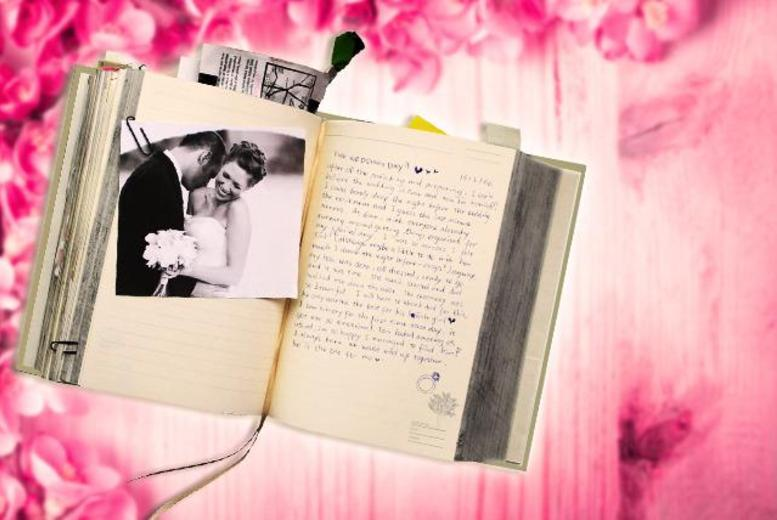 £16.95 instead of £37.01 for a 'My Life Story' 1080-page hardback diary from Wowcher Direct - save 60%