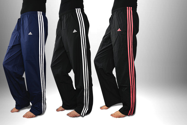 Adidas 3 Stripe Tracksuit Bottoms Shop Wowcher