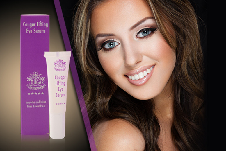 £15 instead of £59 (from Cougar Products) for a concentrated 'lifting' eye serum - love your skin and save 75%