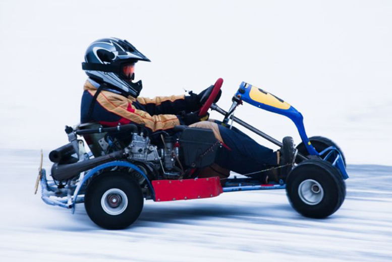 £24 instead of £35 for an ice karting experience for 1 from Absolutely Ice, Slough – save 31%