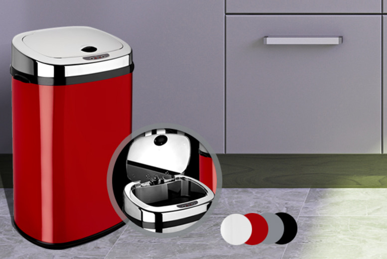 £24.99 instead of £83 (from To Your Home) for a 30L automatic sensor bin, £34.99 for 42L or £39.99 for 50L - save up to 70%