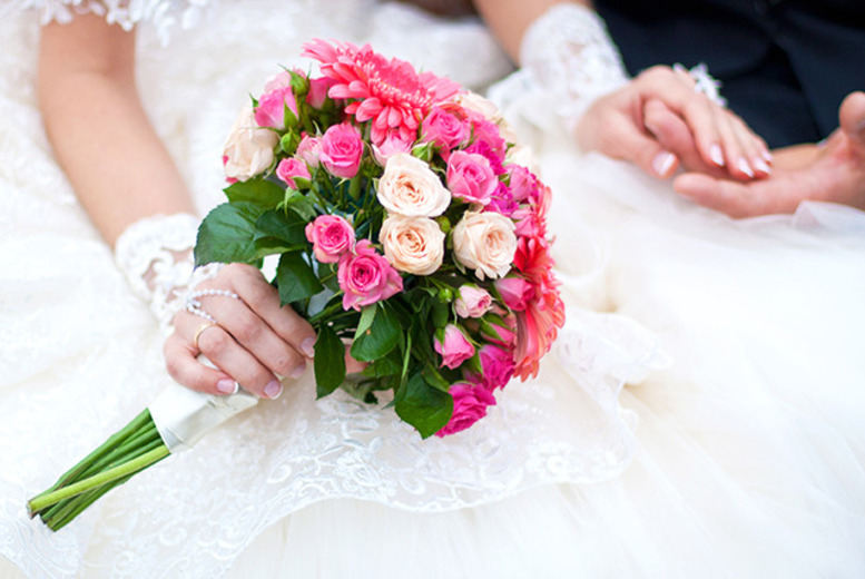 £99 for an 8-piece wedding flower package, £199 for a 16-piece package from The Personal Touch Flowers, Thurcaston