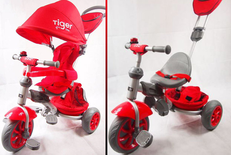 4-in-1 Kids Tricycle