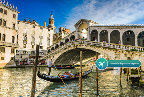 From £129pp (from Weekender Breaks) for a four-night Venice and Rome break including flights and train transfers - upgrade to include a gondola ride and save up to 44%