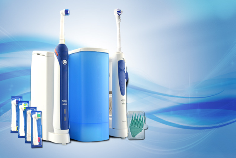 £119.99 instead of £246 (from Look 'N' Style) for an Oral-B Professional Care 3000 & OxyJet Centre - save 51%