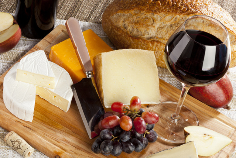 £9 instead of £19.99 for a cheese or meat board and a bottle of wine to share between two at Scotch Hop, Edinburgh - save 55%