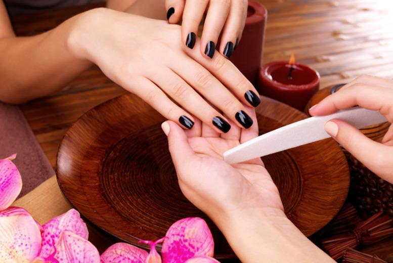 £8 for a Gelish manicure, £15 including a pedicure at Ezina, Glasgow