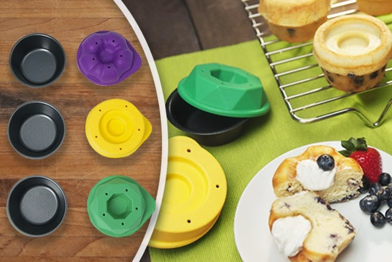 £11.99 instead of £18 (from 2tech) for a 6-piece silicon Bake Shapes set - cook up a storm and save 33%