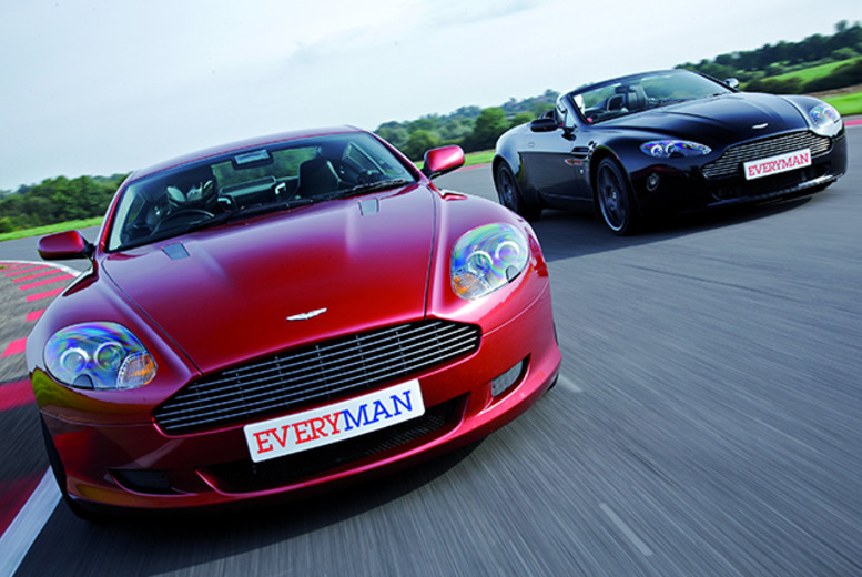 £49 for a 6-mile 'double supercar' experience at a choice of 20 UK locations from Buy a Gift