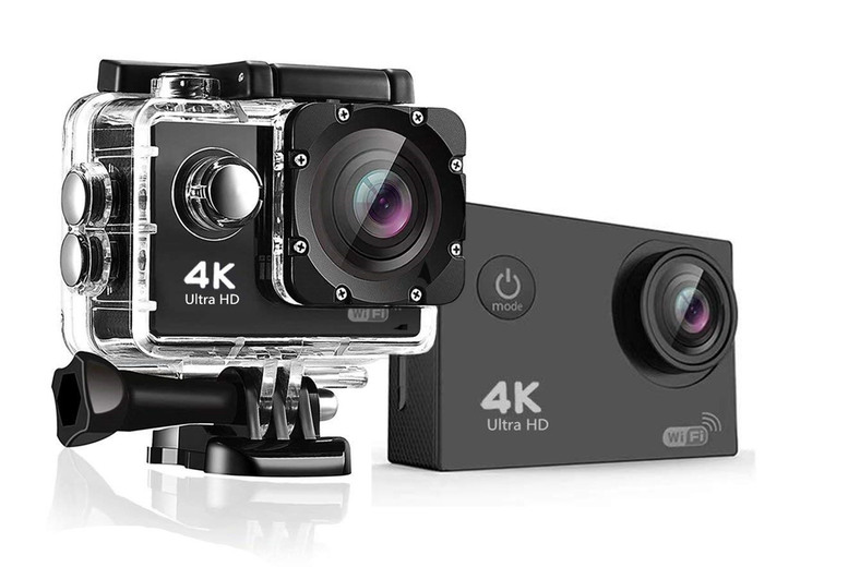 Image of 1080P Hd Sport Camera & Waterproof Case | 16GB | Living Social