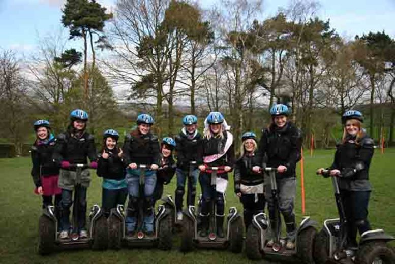 £16 for a 1-hour Segway obstacle course experience for 1 or £29 for 2 at Madrenaline, Manchester