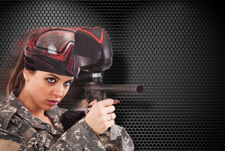 £5 for a paintballing experience for 5 inc. 100 paintballs each at BlackOps Reloaded