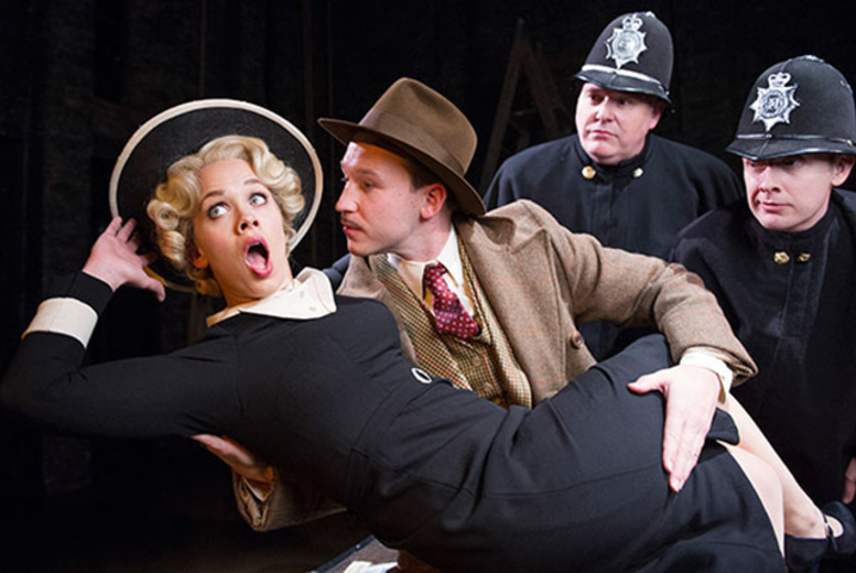 £28.50 for a top price ticket to see the award-winning stage adaptation of 'The 39 Steps' at The Criterion Theatre, Piccadilly Circus - save up to 43%