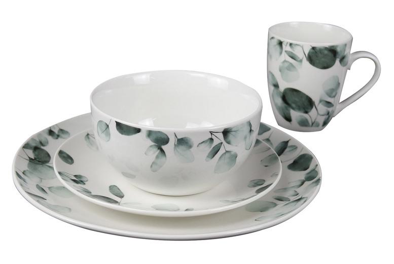 Image of 16Pc Eucalyptus Dinner Plate Set | Living Social
