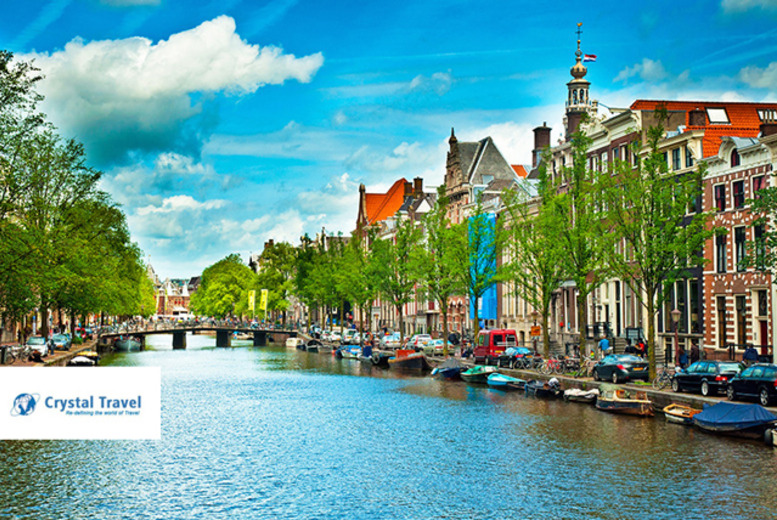We're giving away a 4* trip to Amsterdam for 2 (plus 40 runner-up prizes) to celebrate our 200,000 likes on Facebook!