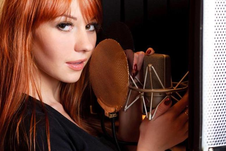 £14 for a 4-hour Superstar experience for 1 person inc. song recording, MAC makeover, photoshoot & CD, £27 for 2 people at Love Exclusive - save up to 94%