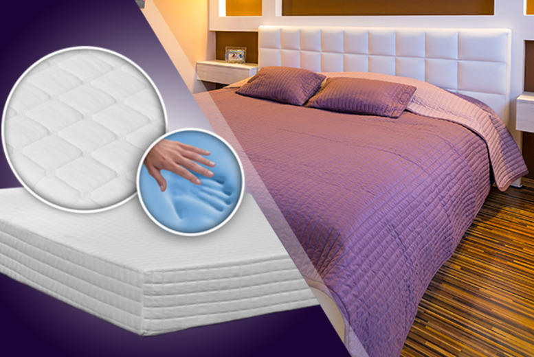 £149 for a single GelFlex memory foam mattress, £189 for a double, £199 for king, £209 for super king - save up to 70% + DELIVERY INCLUDED