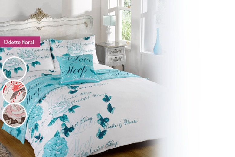 £12.99 for a single Bed in a Bag duvet set, £16.99 for a double, £19.99 for king or £24.99 for super king - save up to 48%
