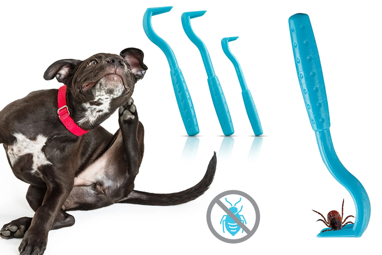 Image of 3 Pack Of Pet Tick Removers | Pet Care | Living Social
