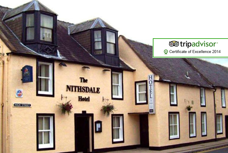 £89 instead of up to £168.10 (at The Nithsdale Hotel, Nith Valley) for 2nts for 2 inc. breakfast & 2-course dinner - save up to 47%