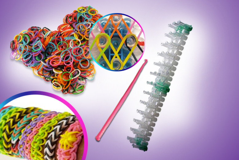 £4.99 instead of £9.99 (from Get the Trend) for a bracelet making kit - save 50%