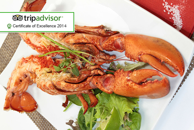 £39 for a 4-course seafood tasting menu with lobster for 2 people, or £78 for 4 at The Lavender, Lavender Hill
