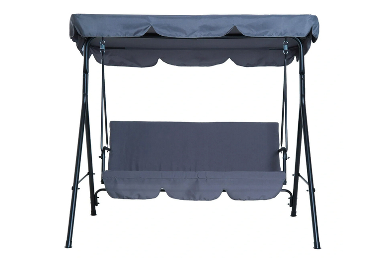 Image of Canopy 3-Seater Swing Chair | Living Social