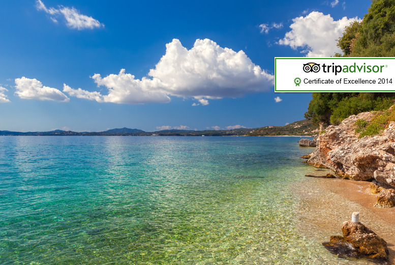 From £129pp (from Major Travel) for a 5-night self-catered Corfu break inc. return London Gatwick, Luton or Stansted flights - save up to 36%