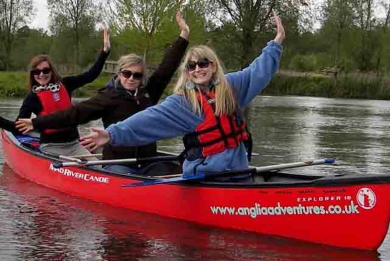 £79 instead of £130 for a 2-day 'Sudbury to Sea' canoeing expedition with Anglia Adventures - save 39%