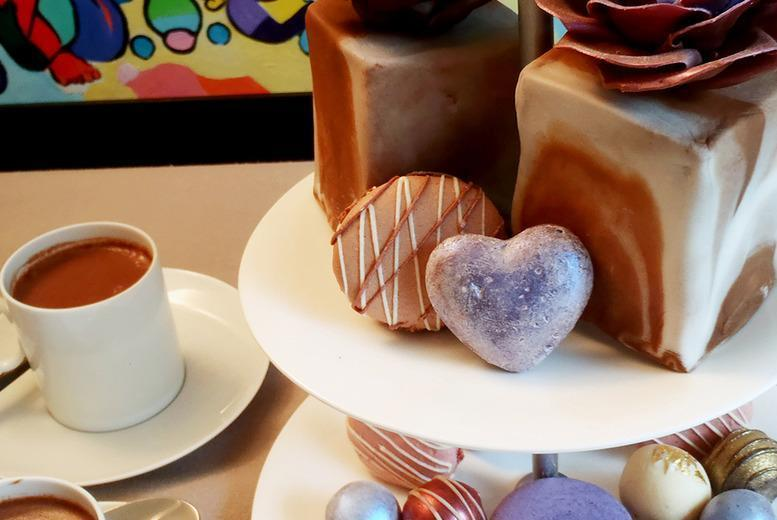 £39 for a chocoholics afternoon tea for 2, £79 for a truffle-making workshop for 2 or from £99 for both at David Leslie, London - save up to 51%