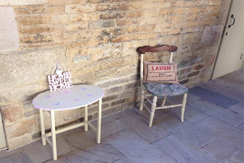 Shabby Chic' furniture painting workshop, or £40 for two, from Chic ...