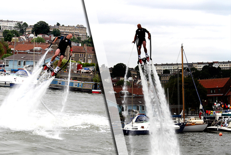 £83 (from Buy a Gift) for a 2-hour flyboarding experience at one of five nationwide locations