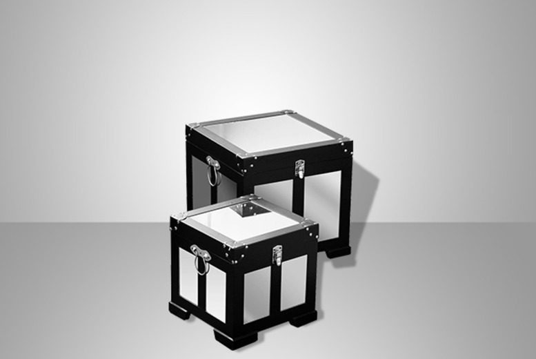 From £34.99 for a set of 3 vintage storage trunks, or £59.99 for a set of 2 mirrored trunks from Wowcher Direct - save up to 40%