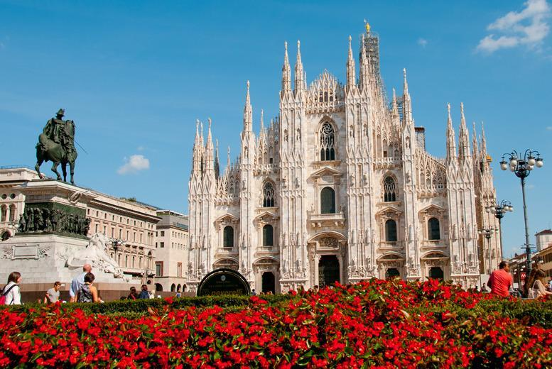 £129pp instead of up to £230.16pp (from Airbridge Travel) for a 2-nt Milan break for 2 inc. flights, £149pp for 3nts - save up to 44%