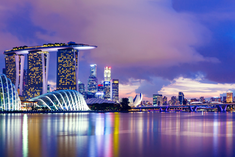 £1199pp (from IWC Holidays) for a 5nt 4* Singapore break inc. flights and a 3-day pass