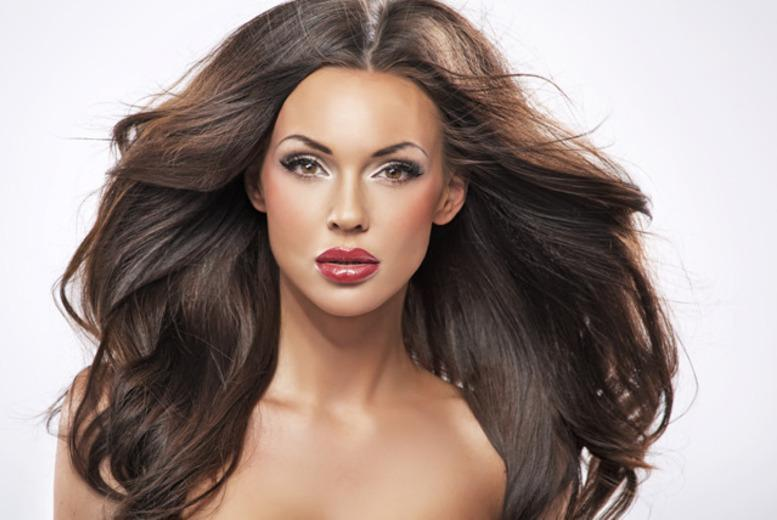 "£89 for a full head of 14"" micro ring human hair extensions, or £99 for 16"" extensions by Haircare Direct UK - save up to 63%"