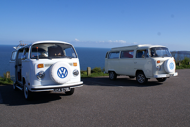 From £129 for a 3nt weekend VW Campervan hire for up to 5 people or from £169 for a 4nt midweek hire from VDubAndAway, Teignmouth - save up to 53%