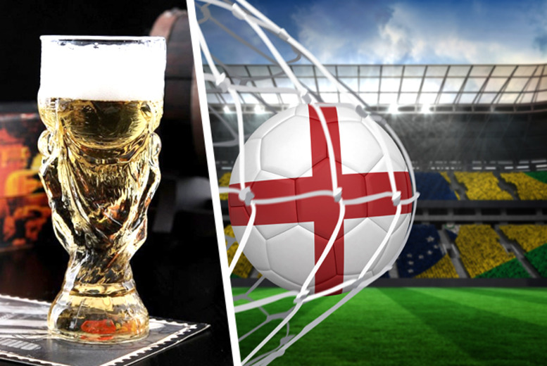 £6.99 instead of £15.99 (from Unusual Giftz) for a World Cup Trophy-Style beer glass*, or £9.99 for 2 - save up to 56%