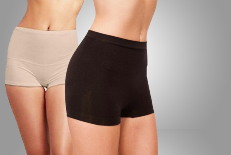 £7.99 instead of £15.99 (from Get the Trend) for a pair of Bodyfit hip enhancing shapewear shorts in black or beige - save 50%
