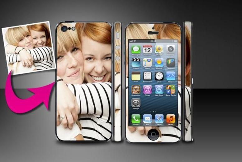 £6.99 instead of £19.98 (from Skinz) for 2 personalised phone skins - save 65% + DELIVERY IS INCLUDED
