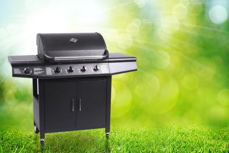 £159 instead of £399.99 for a gas BBQ with grill and side burner from Wowcher Direct - save 60%
