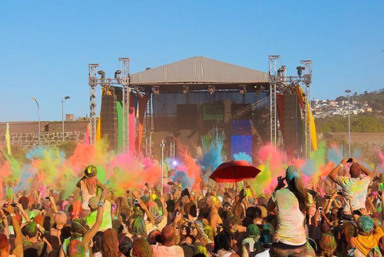 £18 instead of £38.79 for a fast day pass ticket to the HOLI ONE colour festival, valid at 8 locations - save 54%