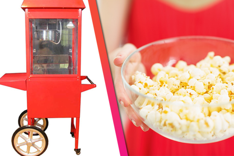 £49 instead of £225 for 3 hours of popcorn cart hire inc. personal server and 'unlimited' popcorn from Betty's Bon Bons, Edinburgh & Glasgow - save 78%