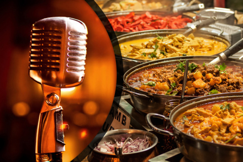 £29 instead of up to £60 for a soul and motown night for 2 inc. an Indian buffet each at Holiday Inn, Birmingham Airport - save up to 52%