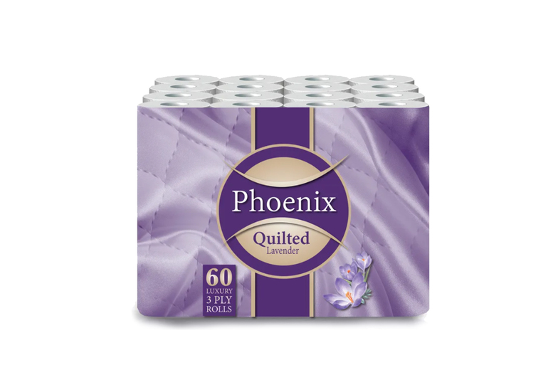 Image of 60-Pack Quilted 3 Ply Fragranced Toilet Rolls | Living Social