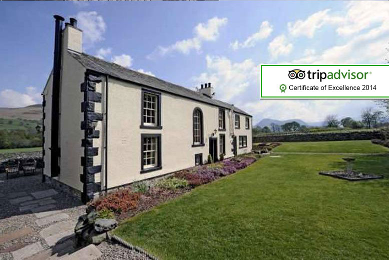 £89 instead of £178.20 for a 1-night 5* Lake District stay for 2 inc. breakfast & a cream tea at New House Farm, £169 for 2 nights - save up to 50%