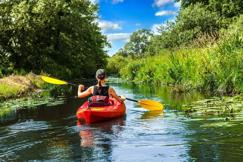 £29.50 for a kayaking or paddleboarding trip for 1, £59 for 2, or £49 for a canoe trip for 2 with Back of Beyond Adventures, Petersham - save up to 51%