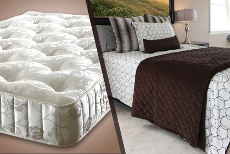£199 for a single Sapphire 3000 cashmere pocket sprung mattress, £239.95 for a small double or double, £249.95 for king or £319.95 for super king